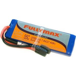 Аккумулятор Fullymax LiPo 7.4V 3700мАч 55C (Traxxas) - FB3800-55C-7.4V-WB
