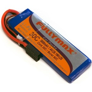 Аккумулятор Fullymax LiPo 7.4V 3800мАч 30C - FB3800-30C-7.4V-WB