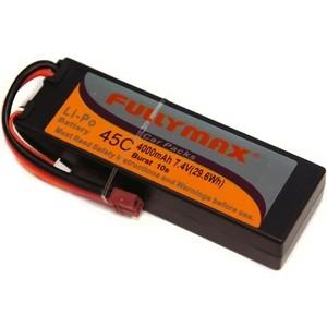 Аккумулятор Fullymax LiPo 7.4V 4000мАч (в корпусе) - FB4000-45C-7.4V-WB