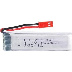 Аккумулятор MJX Li-Po 3.7v 600mah JST - Q242-36 micro parallel charging board w micro jst jst ph connectors for r c helicopter black red