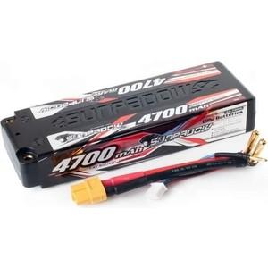 Аккумулятор Sunpadow Li-Po 2S1P 4700mAh 40C 60C XT60 Hardcase - SP-4700-2-40C-S-XT