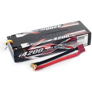 Аккумулятор Sunpadow Li-Po 3S1P 4200mAh 40C 80C T-Plug Hardcase - SP-4200-3-40C-S-D