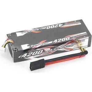 Аккумулятор Sunpadow Li-Po 3S1P 4200mAh 40C 80C TRX Hardcase - SP-4200-3-40C-S-TRX