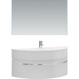 цена на Мебель для ванной De Aqua Эскалада 117 белая