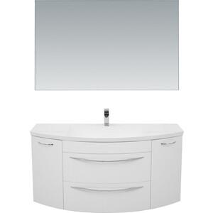 Мебель для ванной De Aqua Лонг 140 белая