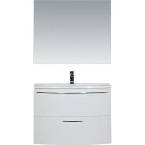 Мебель для ванной De Aqua Лонг 90 белая
