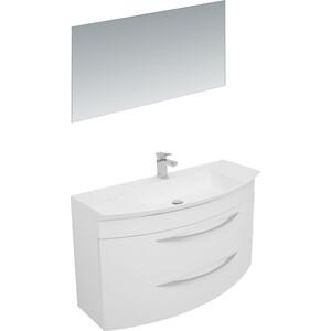 Мебель для ванной De Aqua Лонг 120 белая