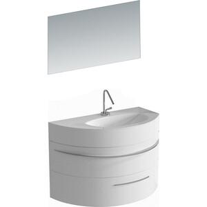 Мебель для ванной De Aqua Эскалада 100 R белая