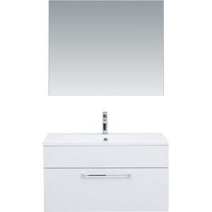 Мебель для ванной De Aqua Кубика 90 белая