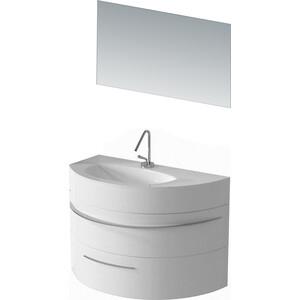 Мебель для ванной De Aqua Эскалада 100 L белая