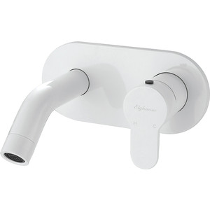 Смеситель для раковины Elghansa Roundlline белый (14R0783-White) смеситель для раковины elghansa mondschein white 1620235 white