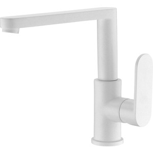 Смеситель для кухни Elghansa Kitchen Color белый (5601102-White Stone) смеситель elghansa 1622519 white белый