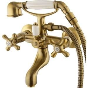Смеситель для ванны Elghansa Retro Bronze с душем, бронза (2302754-Bronze)