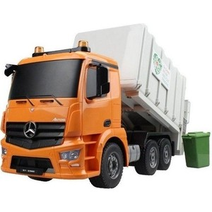 Радиоуправлямая машина мусоровоз Double Eagle Mercedes-Benz Actros масштаб 1:20 - E560-003