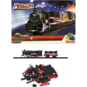 Fenfa Железная дорога 120 деталей, с локомотивом - HQ1608-3A