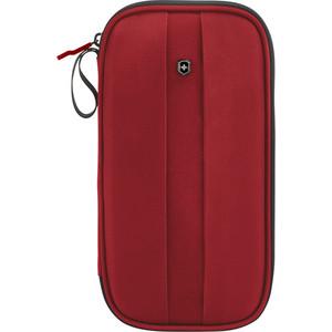 Кошелек-органайзер Victorinox Travel Organizer с защитой от сканирования RFID, красный, 31172803 кошелек ogon big stockholm rfid safe 191600 черный