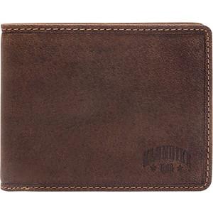 Бумажник Klondike John, коричневый, KD1005-01