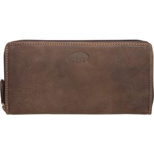 Бумажник Klondike Mary, коричневый, KD1030-01
