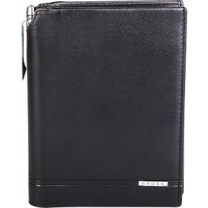 Кошелек Cross Classic Century с отделением для паспорта+ручка, черный, AC018173-1