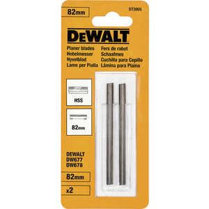 Ножи для рубанка DeWALT 82мм 2шт HSS (DT 3905) кольцо на палец ноги вариант 2 вариант 2