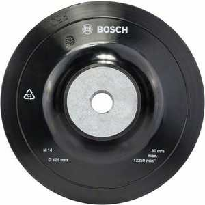 Тарелка опорная Bosch 125мм М14 (1.608.601.033) fit 125мм м14 с бандажом витая профи 39512