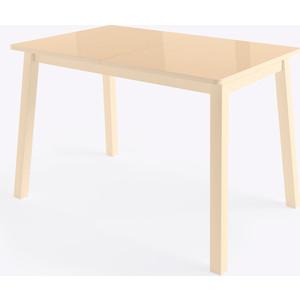 Стол Мамадома Тирк 2 стекло кремовый стол мамадома бейз 130 кремовый темное дерево