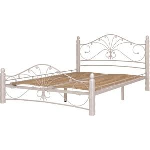 лучшая цена Кровать ГЗМИ Фортуна 1 белый-белый 140
