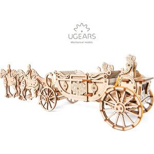 Конструктор Ugears Королевская карета (лимитированная коллекция)