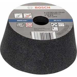 Чашка коническая Bosch 110/90х55мм K36 по камню (1.608.600.240) фото