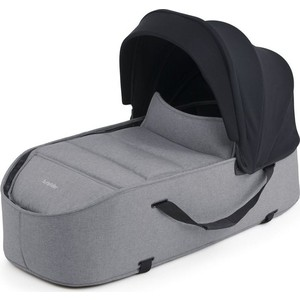 Люлька Bumprider Connect Carrycot Grey Melange 51284-197