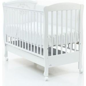 Кроватка Fiorellino Infant 120*60 с ящиком white