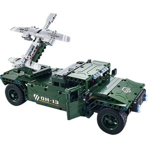 Радиоуправляемый конструктор QiHui боевой джип Technics 4CH 2.4G 502 детали - QH8013