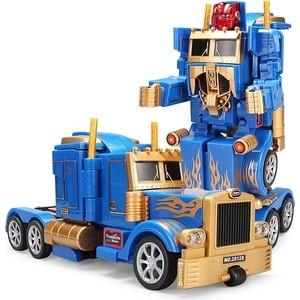 Feng Yuan Радиоуправляемый робот трансформер грузовик - 28128-Gold