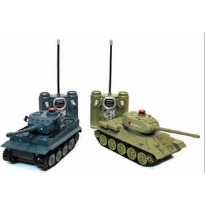 Радиоуправляемый танковый бой Huan Qi Т34 и Tiger 1:28 - c-00135(508-t) цены онлайн