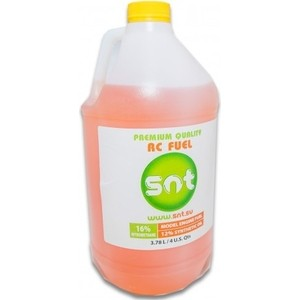 SNT Топливо (Техническая жидкость автомодельная), 16% 3,8 л - SNT-FUEL16