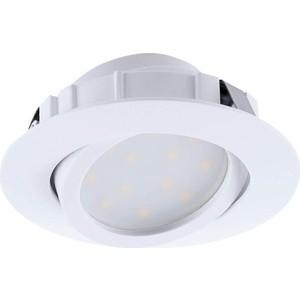 Встраиваемый светодиодный светильник Eglo 95847 встраиваемый светодиодный светильник eglo peneto 1 95899