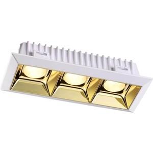 Встраиваемый светодиодный светильник Novotech 357849 встраиваемый светодиодный светильник novotech trad 357361