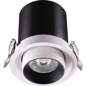 Встраиваемый светодиодный светильник Novotech 358081 декоративный светильник novotech встраиваемый 369517
