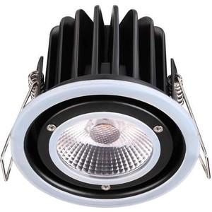 Встраиваемый светодиодный светильник Novotech 358006 камера видеонаблюдения hikvision hiwatch ds t220s 3 6мм hd tvi цветная