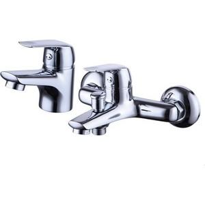 Комплект смесителей Zenta Рико с душем, хром (Z2314)