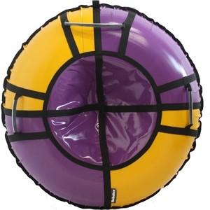 Тюбинг Hubster Sport Pro фиолетовый-желтый 120 см