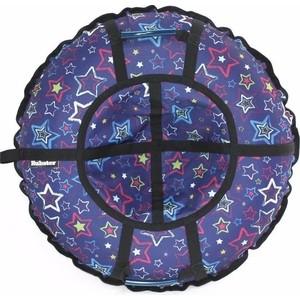 Тюбинг Hubster Люкс Pro Звезды Синие 110 см тюбинг митек болид 76 110 см