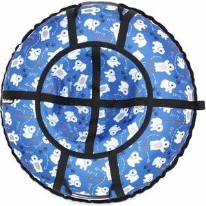 Тюбинг Hubster Люкс Pro Мишки синие 80 см