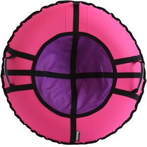 Тюбинг Hubster Ринг Хайп розовый-фиолетовый 90 см
