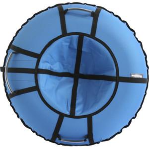 цена на Тюбинг Hubster Хайп голубой 120 см