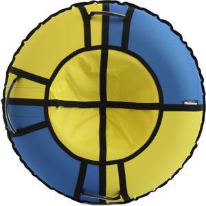 Тюбинг Hubster Хайп голубой-желтый 110 см цены онлайн