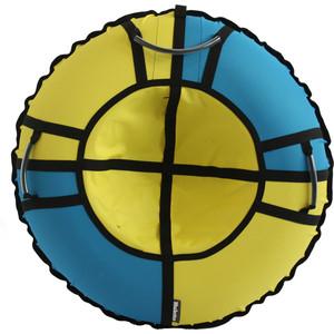 Тюбинг Hubster Хайп желтый-бирюзовый 100 см