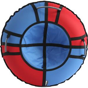 цена на Тюбинг Hubster Хайп красный-голубой 120 см