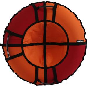 Тюбинг Hubster Хайп красный-оранжевый 120 см