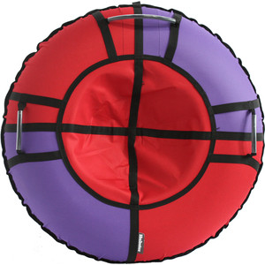 Тюбинг Hubster Хайп красный-фиолетовый 110 см цена и фото